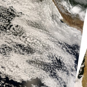 MODIS visible image of the VOCALS region taken on 2008 Nov. 6. (credits: NASA/GSFC Rapid Response)