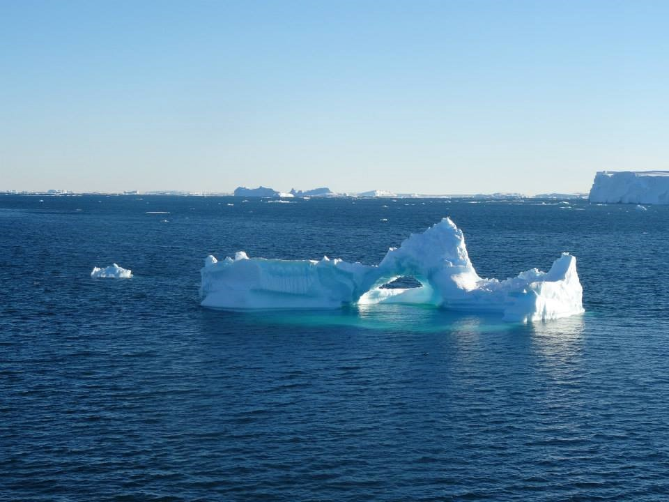Icebergs were a hazard for many weeks during the cruise, there was always somebody on watch on the bridge to ensure we didn't crash in to a berg that could damage the ship.