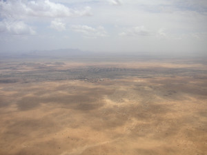 Sahelian region between Al fashir and Nyala in Sudan (Image)