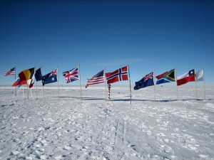 The South Pole nowadays (image geocaching.com)