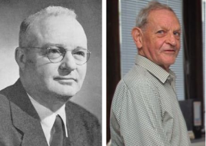 Figure 1 Left: Thomas Midgley Jr. (1899-1944) 1. Right: Joe Farman (1930-2013) 2.